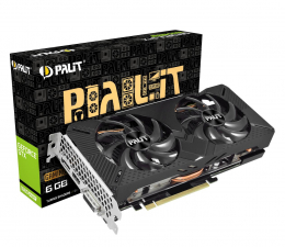 Karta graficzna NVIDIA Palit GeForce GTX 1660 SUPER GamingPro OC 6GB GDDR6