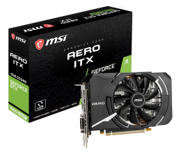 Karta graficzna NVIDIA MSI GeForce GTX 1660 SUPER AERO ITX OC 6GB GDDR6