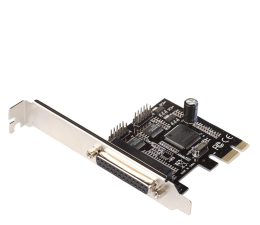 Kontroler i-tec Adapter PCIe - 2x RS232, LPT