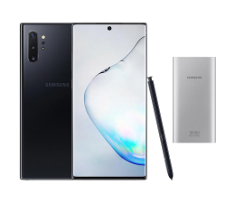 Smartfon / Telefon Samsung Galaxy Note 10+ Aura Black + PowerBank 10000mAh