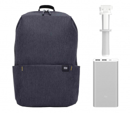 Zestaw akcesoriów GSM Xiaomi Gift Pack (Daypack+Power Bank+Selfie Stick)
