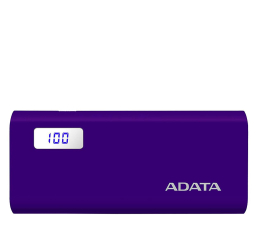 Powerbank ADATA Power Bank P12500D 12500mAh 2A (fioletowy)