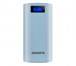 Powerbank ADATA Power Bank P20000D 20000mAh 2.1A (niebieski)
