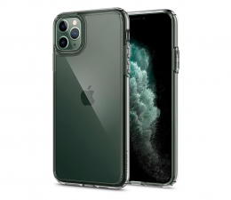 Etui/obudowa na smartfona Spigen Ultra Hybrid do iPhone 11 Pro Crystal Clear