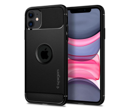 Etui / obudowa na smartfona Spigen Rugged Armor do iPhone 11 Black