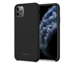 Etui / obudowa na smartfona Spigen Silicone Fit do iPhone 11 Pro Black