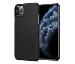 Etui / obudowa na smartfona Spigen Thin Fit do iPhone 11 Pro Max Black