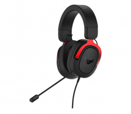 Słuchawki dla graczy ASUS TUF GAMING H3 czerwone