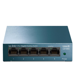 Switch TP-Link 5p LS105G Metal (5x10/100/1000Mbit)