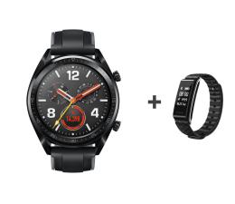 Smartwatch Huawei Watch GT czarny + Band A2 czarny