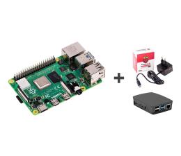 Nettop/Mini-PC Raspberry Pi Zestaw 4B 4GB RAM 1,5GHz + Obudowa + Zasilacz