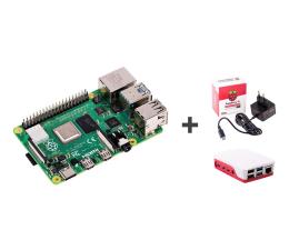 Nettop/Mini-PC Raspberry Pi Zestaw 4B 1GB RAM 1,5GHz + Obudowa + Zasilacz