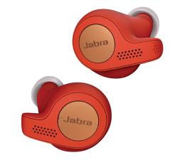 Słuchawki bezprzewodowe Jabra Elite Active 65t miedziano - czerwone