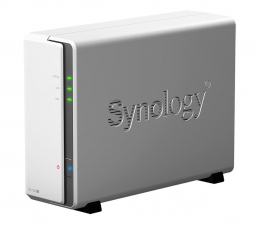Dysk sieciowy NAS / macierz Synology DS120j (1xHDD, 2x800MHz, 512MB, 2xUSB, 1xLAN)