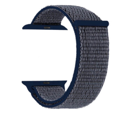 Pasek / bransoletka TOPP Pasek do Apple Watch 38/40mm Nylon Siatka Blue