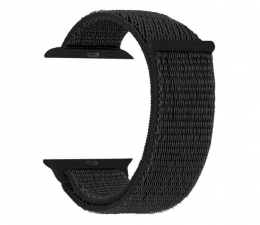 Pasek / bransoletka TOPP Pasek do Apple Watch 38/40mm Nylon siatka czarny