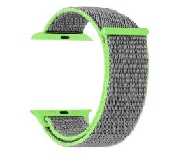 Pasek / bransoletka TOPP Pasek do Apple Watch 38/40mm Nylon Siatka zielony