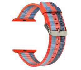 Pasek / bransoletka TOPP Pasek do Apple Watch 42/44mm Nylon Pleciony Orange