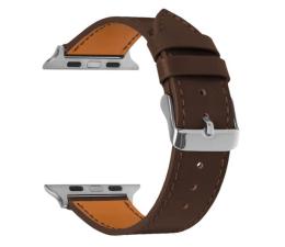 Pasek / bransoletka TOPP Pasek do Apple Watch 42/44mm Skóra brązowy