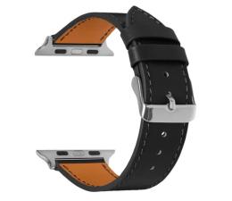 Pasek / bransoletka TOPP Pasek do Apple Watch 42/44mm Skóra czarny