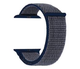 Pasek / bransoletka TOPP Pasek do Apple Watch 42/44mm Nylon Siatka Blue
