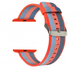 Pasek / bransoletka TOPP Pasek do Apple Watch 38/40mm Nylon Pleciony Orange