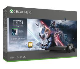 Konsola Xbox Microsoft Xbox One X + STAR WARS: Upadły Zakon