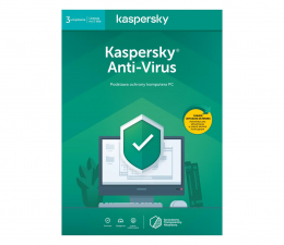 Program antywirusowy Kaspersky Anti-Virus 3st. (24m.) ESD