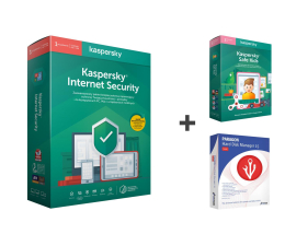 Program antywirusowy Kaspersky Internet Security + SafeKids + Hard Disk Manager