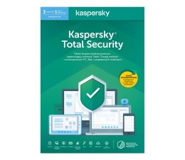 Program antywirusowy Kaspersky Total Security Multi-Device 3st. (12m.) ESD