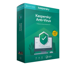 Program antywirusowy Kaspersky Anti-Virus 3st. (12m.)
