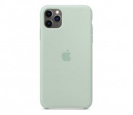 Etui / obudowa na smartfona Apple Silicone Case do iPhone 11 Pro Max Beryl