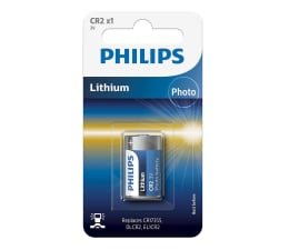 Bateria alkaliczna Philips Lithium photo CR2 1szt