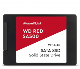 "Dysk SSD WD 2TB 2,5"" SATA SSD Red SA500"