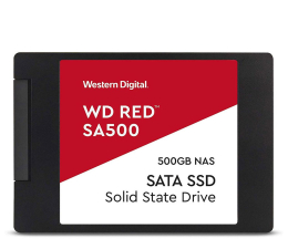 "Dysk SSD  WD 500GB 2,5"" SATA SSD Red SA500"