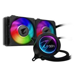 Chłodzenie procesora Gigabyte Aorus Liquid Cooler RGB 240 2x120mm