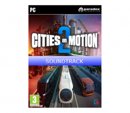 Gra na PC Paradox Interactive Cities in Motion 2 - Soundtrack (DLC) ESD Steam