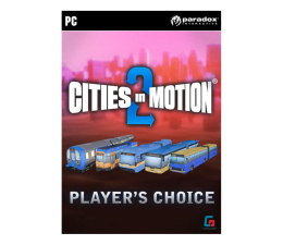 Gra na PC Paradox Interactive Cities in Motion 2 Players Choice Vehicle Pack