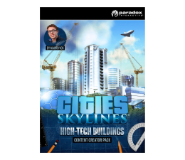 Gra na PC Paradox Interactive Cities Skylines HighTech Buildings (DLC) ESD Steam