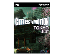 Gra na PC Paradox Interactive Cities in Motion - Tokyo (DLC) ESD Steam
