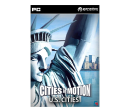 Gra na PC Paradox Interactive Cities in Motion - US Cities (DLC) ESD Steam