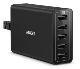 Ładowarka do smartfonów Anker Ładowarka sieciowa 5x USB
