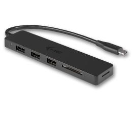 Hub USB i-tec Hub USB-C - 3x USB, USB-C, SD
