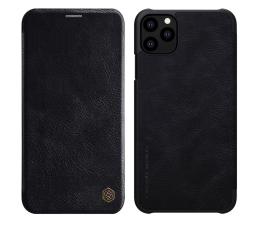 Etui / obudowa na smartfona Nillkin Etui Skórzane Qin do iPhone 11 Pro czarny
