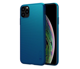 Etui / obudowa na smartfona Nillkin Super Frosted Shield do iPhone 11 Pro Max Blue