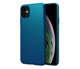 Etui / obudowa na smartfona Nillkin Super Frosted Shield do iPhone 11 niebieski