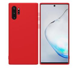 Etui / obudowa na smartfona Nillkin Rubber Wrapped do Galaxy Note 10+ czerwony