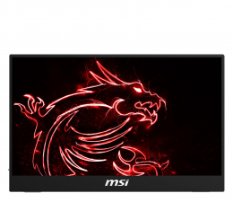 "Monitor LED 21"" i mniejszy MSI Optix MAG161V przenośny"