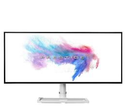 "Monitor LED 32"" i większy MSI Prestige PS341WU biały HDR 5K2K"