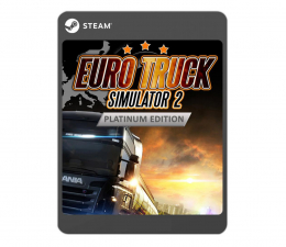Gra na PC Microsoft Studios Euro Truck Simulator 2 - Platinum Edition ESD
